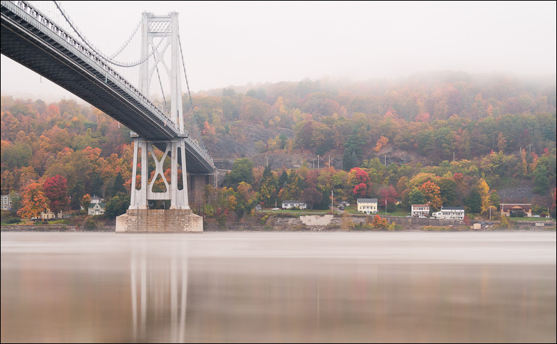 Poughkeepsie, NY waterfront. Olympus 40-150 at 45mm and f7.1