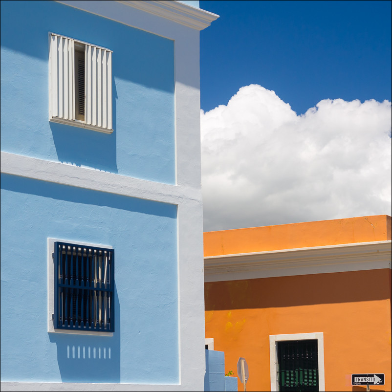 Colorful Homes | Old San Juan, PR