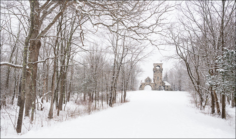 Snowy exploring on the Mohonk Preserve | New Paltz, NY