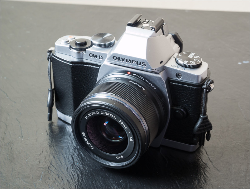 The Olympus 25mm f/1.8 Prime Lens on the Olympus OM-D E-M5