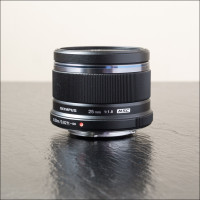 Olympus 25mm f/1.8 Lens Review