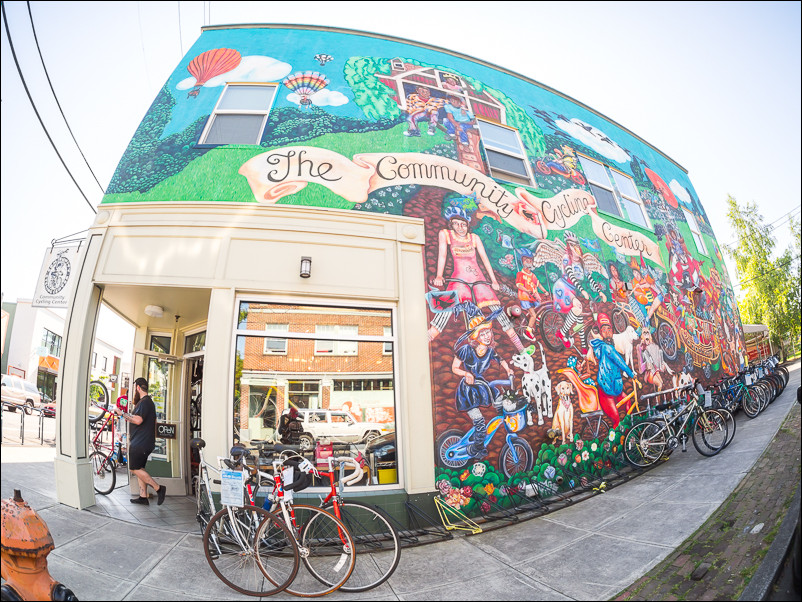 The Community Cycling Center in Portland, Oregon.