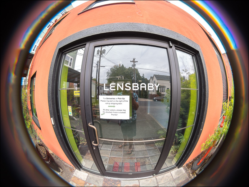 Lensbaby HQ. Taken with the Lensbaby circular fisheye for micro four thirds.