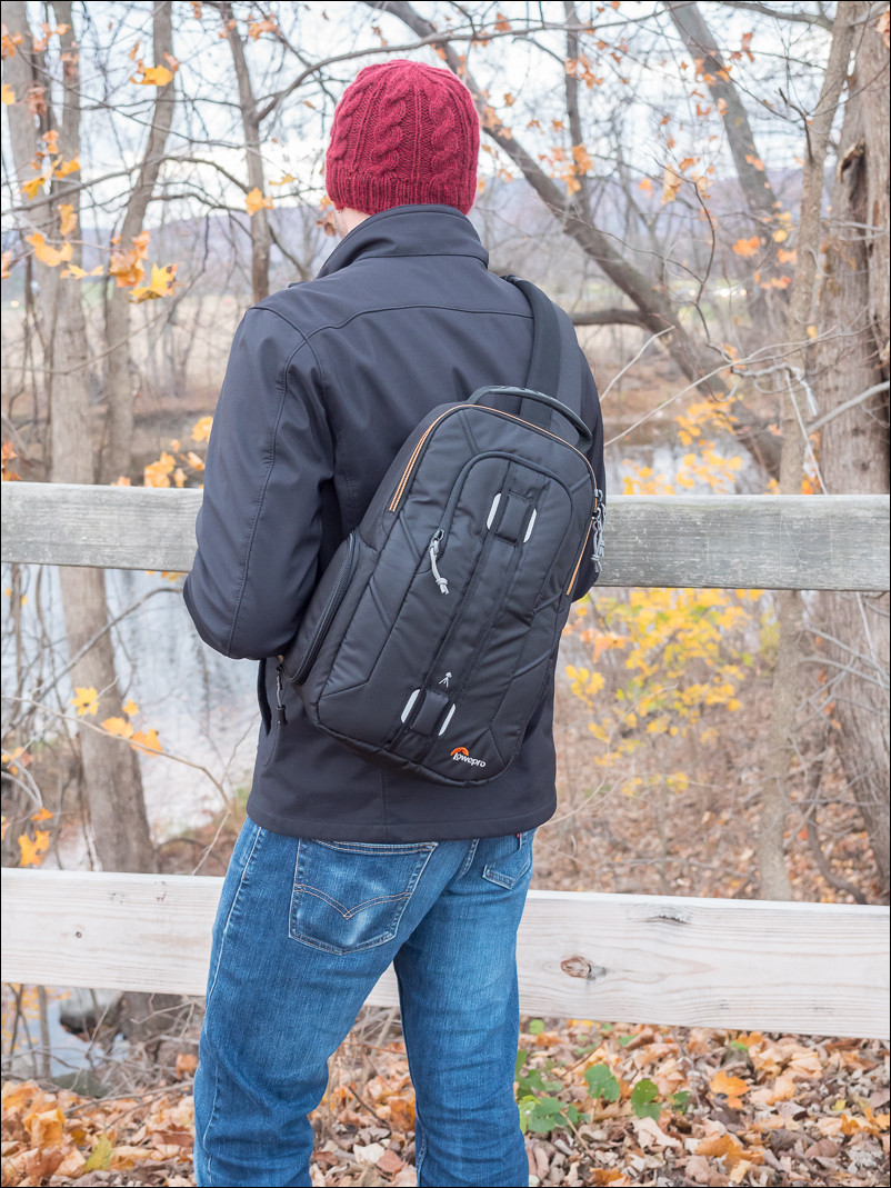 The Lowepro Slingshot Edge 150 AW
