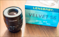 Lensbaby Velvet 56 for Micro Four Thirds Review