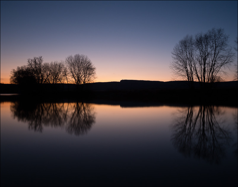 Dusk on the Walkill River | New Paltz, NY