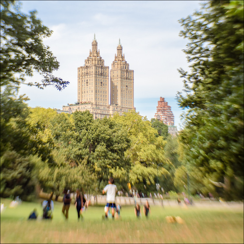 Central Park in New York City - shot with the Lensbaby Composer Pro with Sweet 35 Optic