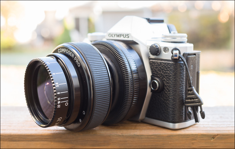 Aperture selection on the Lensbaby Composer Pro with Sweet 35 Optic