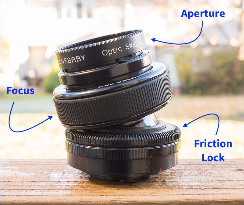Change aperture, dial in focus and adjust the fluidity of the Composer Pro movement